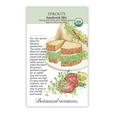 Seeds - BI Sprouts Sandwich Mix Org
