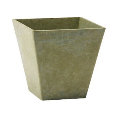 Novelty ELLA ArtStone Square Planter - Sage