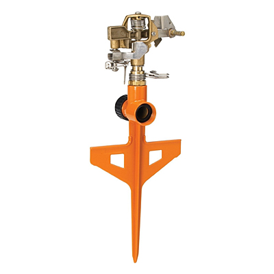 Dramm Stake Impulse Sprinkler - Orange