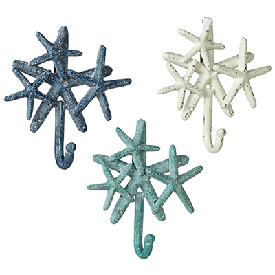 Wall Hook - Starfish Cluster