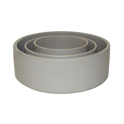 Straight Bowl - Matte Light Grey