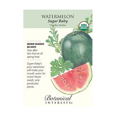 Seeds - BI Watermelon Sugar Baby Org