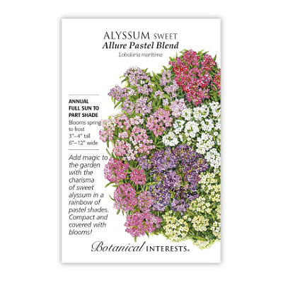 Seeds - BI Alyssum Sweet Allure Pastel Blend