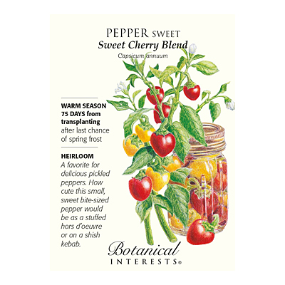 Seeds - BI Pepper Sweet Cherry Blend