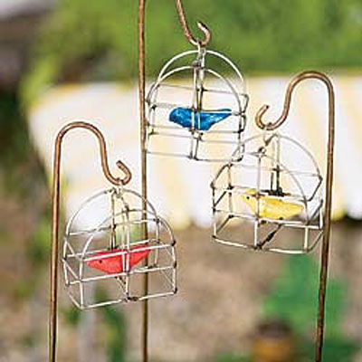 Mini Swing Bird Cage
