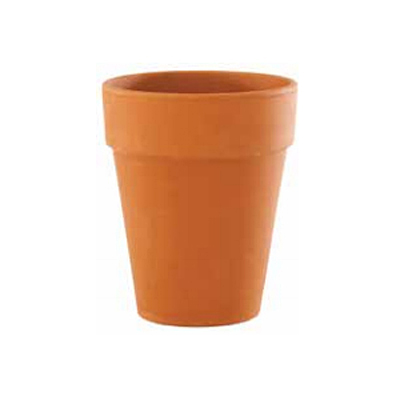 German Tall Standard Pot - Terracotta