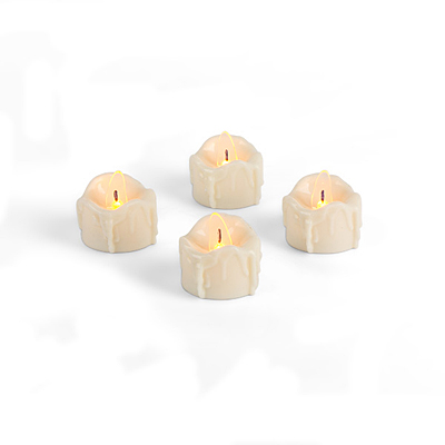 Tea Light - Heavy Drip, 4 pc set