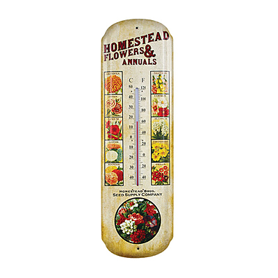 Thermometer - Seed Company Advertising