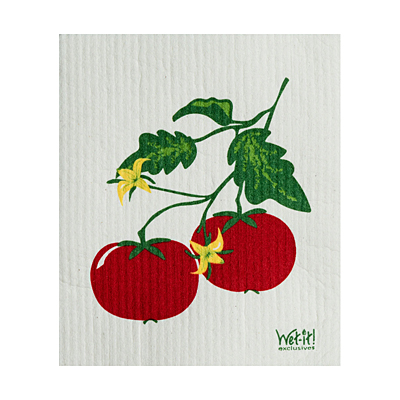 Swedish Dish Cloth - Tomato Vine