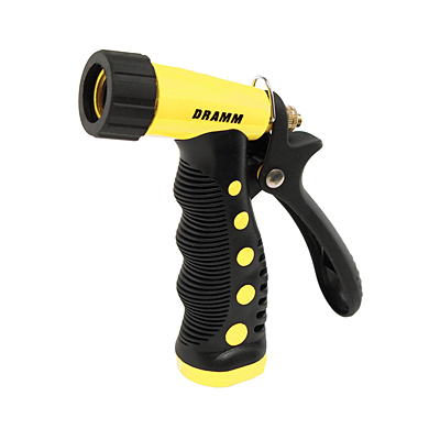 Dramm Touch N Flow Pistol Nozzle - Yellow