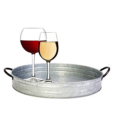 Tray - Panacea Galvanized Serving