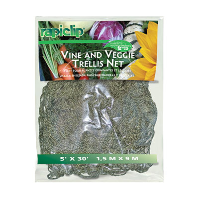Rapiclip Vine and Veggie Trellis Netting