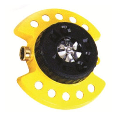Dramm ColorStorm Turret Sprinkler - Yellow