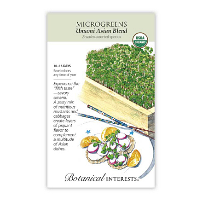 Seeds - BI Microgreens Umami Asian Blend Org