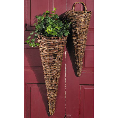 Vine Wall Cone with Liner