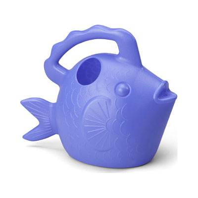 Novelty Watering Can - Blue Fish