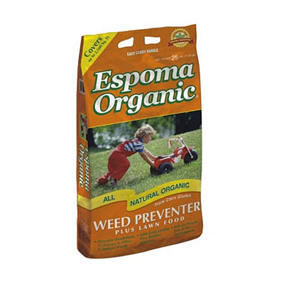 Espoma Organic Weed Preventer Plus Lawn Food