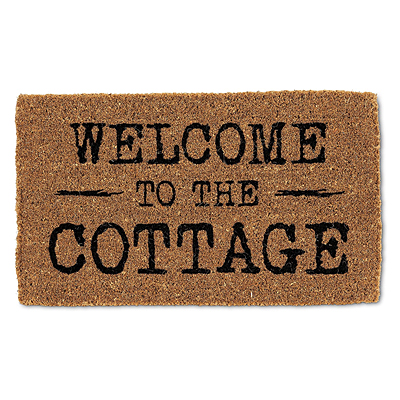 Coir Mat - Welcome to the Cottage