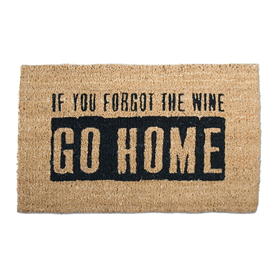 Coir Mat - Where's the Wine?