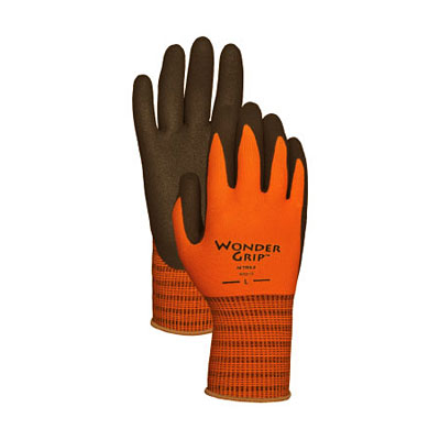 Wonder Grip Double-Coated Nitrile Palm Gloves