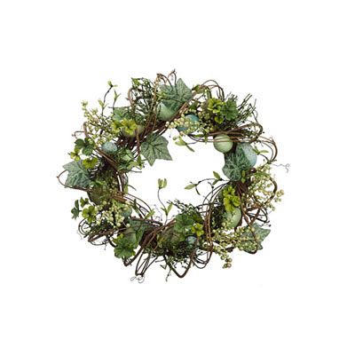 Wreath - Egg/Berry Twig