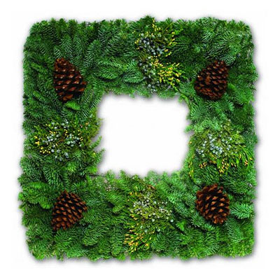 Wreath - Square Mixed